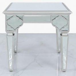 Medina Silver End Table