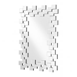Rectangle Panelled Wall Mirror