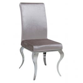 AVA Dining Chair Silver