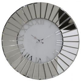 Mirror Fan Effect Wall Clock Medium