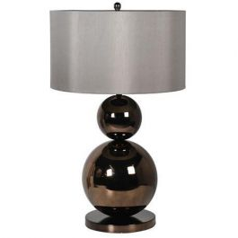 Lani Bronze Ball Lamp