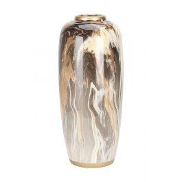Large Marble Swirl Vase