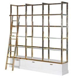 Kensington White & Gold Display Unit