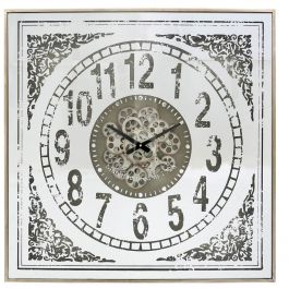 Antique styled Mirror Wall Clock