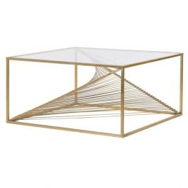 Gold Twist Coffee Table