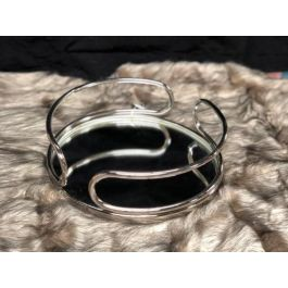 Silver Round Tray