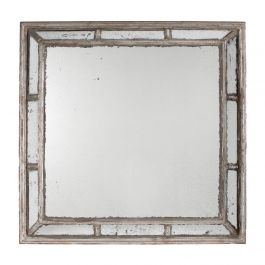 Antique Square Wall Mirror