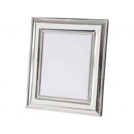 Silver Stepped Photo Frame 4x6