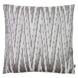 Fenix Printed Cushion Slate/Dark Grey