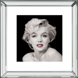Marilyn Monroe Red Lip Wall Art 46 x 46 cm