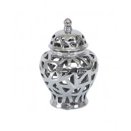 Chrome Cut Urn