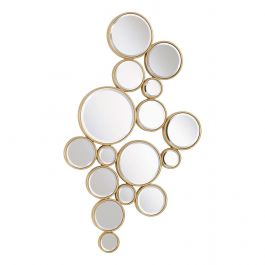 Bubble Wall Mirror Champagne