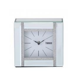 Glitz And Mirror Table Clock