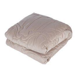 Roberto Cavalli Essential Velvet Bedspread - Sand