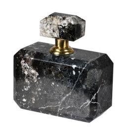 Black Marble Perfume Bottle