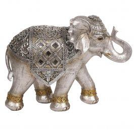 Silver Elephant 30x22cm
