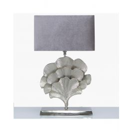 Leaf Grey Table Lamp