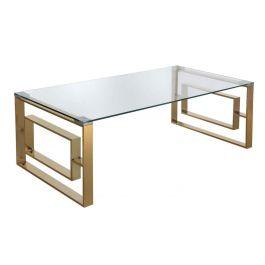 The Duke Gold Metal Coffee Table