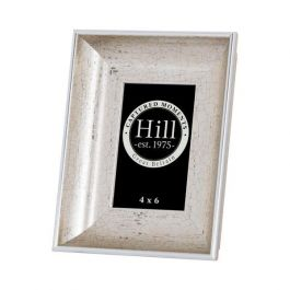 Crackled Silver Effect Photo Frame 4x6