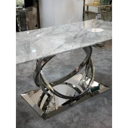 Harley Grey Marble 180cm Dining Table