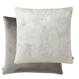 The Mika Marble Silver Cushion 50x50