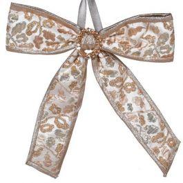 Golden Fabric Bow