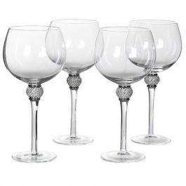 Tall Silver Gin Glasses