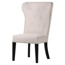 Lion Back Cream Dining Chair