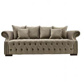 Sienna Three Seater Sofa Mink