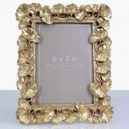 Gingko Gold Leaf Photo Frame 5X7