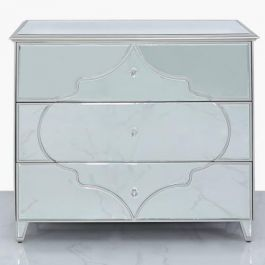 Medina Silver 3 Drawer Chest