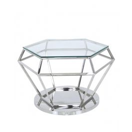 Diamond Steel Coffee Table