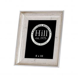 Crackled Silver Effect Photo Frame 8x10