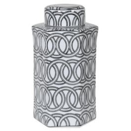 Rings Hexagon Jar Small