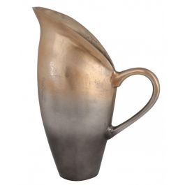 Graduated Gold Jug Vase