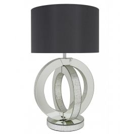 Hedya Ring Grey Table Lamp