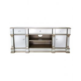 The Louis Mirror Tv Unit Gold Medium