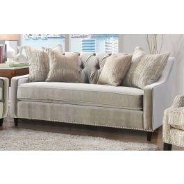 ALMA - 2 Seater Sofa Mink