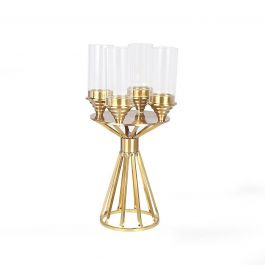 Gold Candela Candle Holder