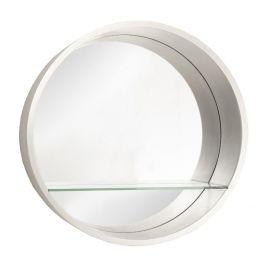 The Round Shelf Wall Mirror