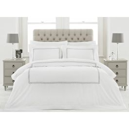 Cleopatra Silver Bedding