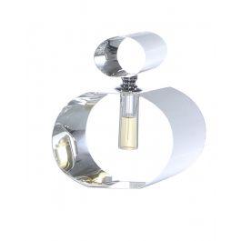 Oval Crystal Decorative Perfume Bottle Large