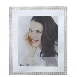 Sparkling Silver Photo Frame 8In x 10In
