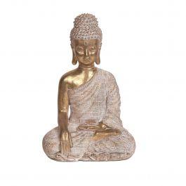 Gold Sitting Buddha 21cm
