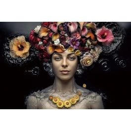 Flowral Women Wall Art
