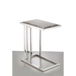 Sofa Table - Grey Marble