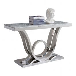 PORTLAND - Grey Console Table