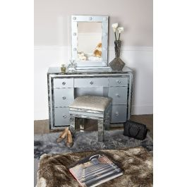 The Atlantis Grey Dressing Table