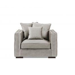 Valentia Latte Sofa -1 Seater