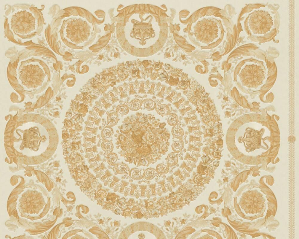 Versace Wallpaper Baroque Gold Yellow